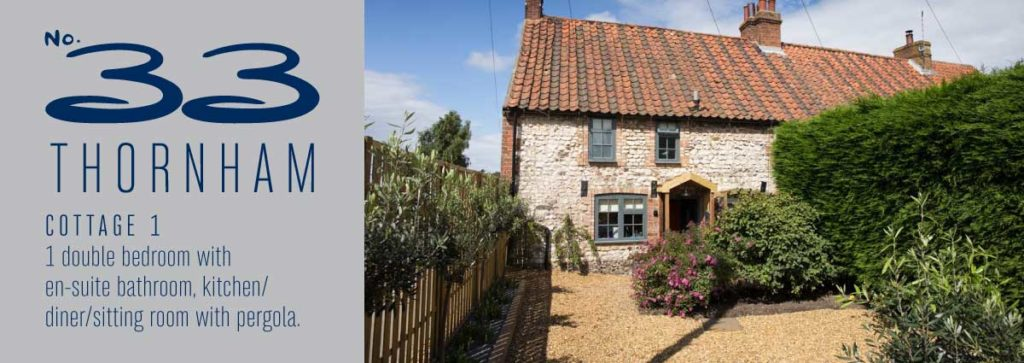 No 33 Thornham Cottage 1