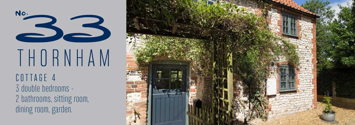 No 33 Thornham Cottage 4