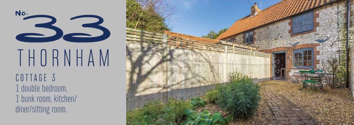 No 33 Thornham Cottage 3