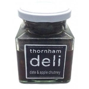 date and apple chutney