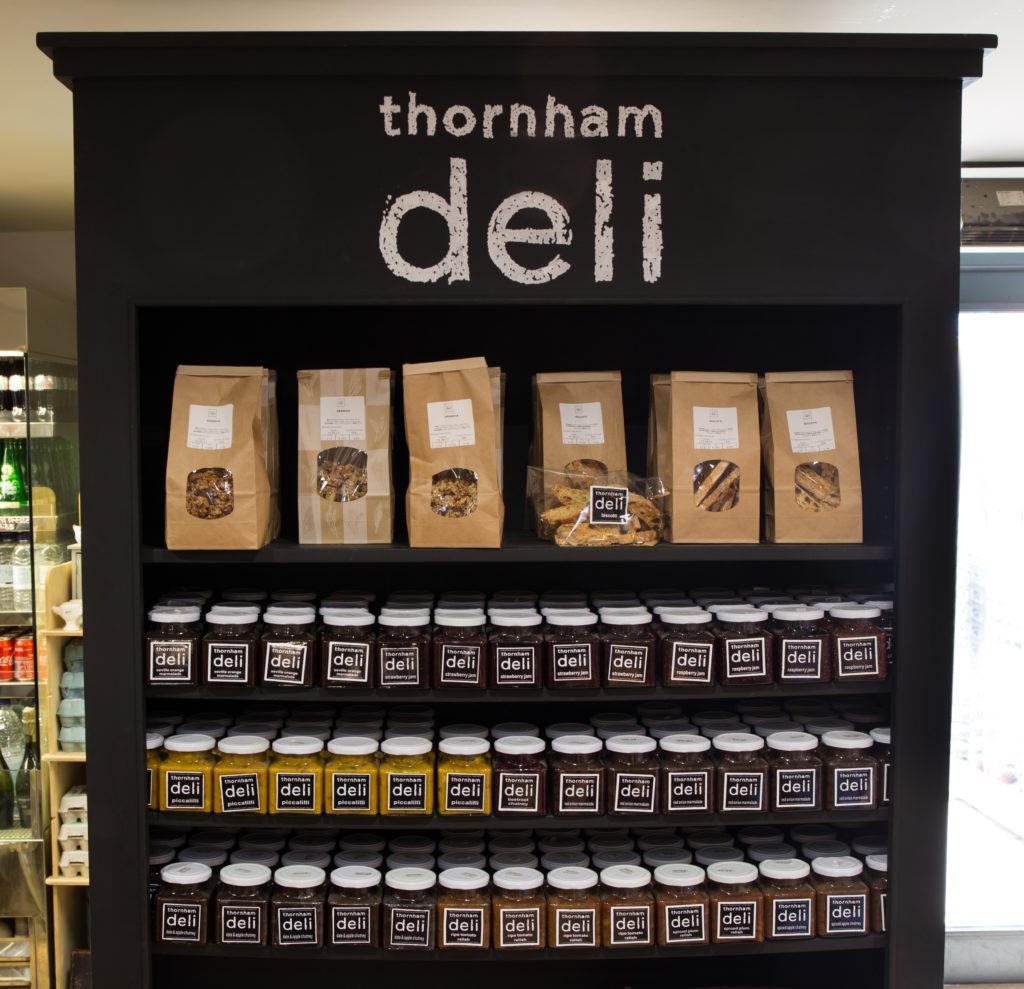thornham deli product range