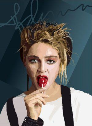 Madonna by Artist Nicholas Reddyhoff
