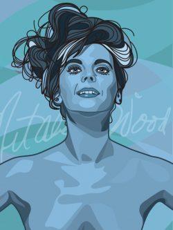 Natalie Wood by Nicholas Reddyhoff